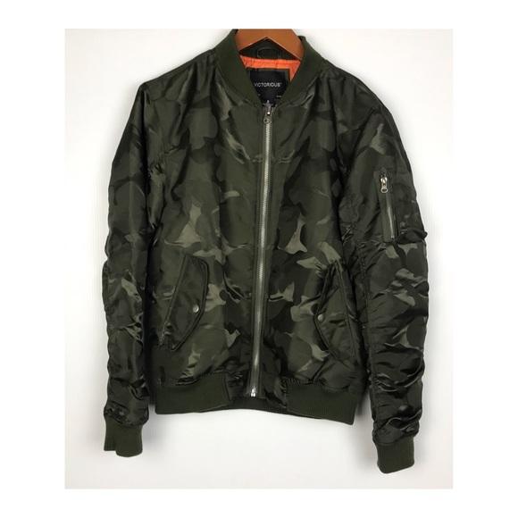 Victorious Jackets   Coats   Hp Camo Bomber Jacket Windbreaker ... 991dcdf13e